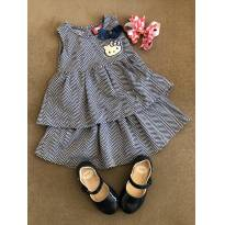 Vestido Hello Kit tam. 3 - 3 anos - Hello Kitty by Sanrio