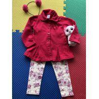 conjunto legging e casaco pulla bulla 3 - 3 anos - Pulla Bulla