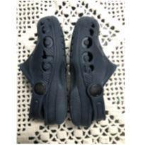sandalia crocs azul marinho c 8-9 - 24 - Crocs