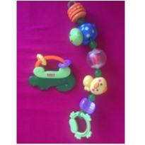 kit 2 brinquedinhos baby fisher price -  - Fisher Price
