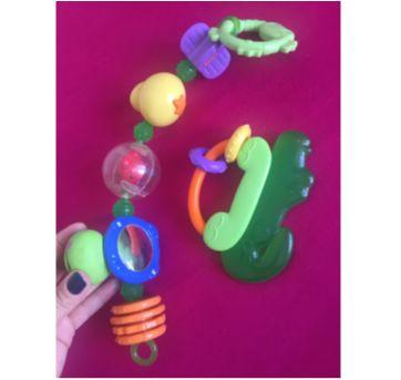kit 2 brinquedinhos baby fisher price - Sem faixa etaria - Fisher Price