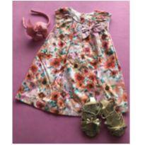 vestido floral quimby 3 - 3 anos - Quimby