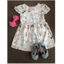 vestido princesinha 3 anos - 3 anos - Up Baby