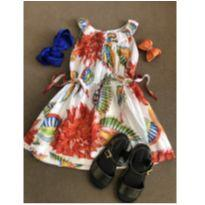 vestido richards 2-3 anos - 2 anos - Richards Kids