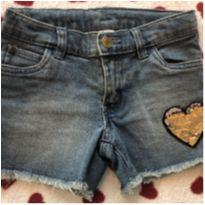 Shorts jeans carters 6/6x - 6 anos - Carter`s