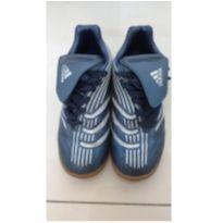 Chuteira da adidas azul futsal - 32 - Adidas
