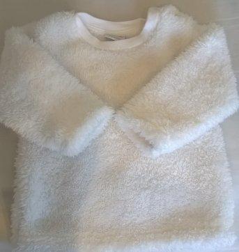 blusão ovelha - 3 a 6 meses - Teddy boom
