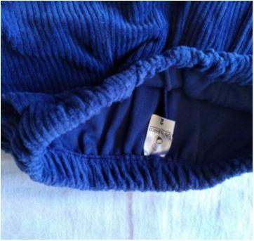 Calça de veludo bebê básico - 24 a 36 meses - Bebê Básico