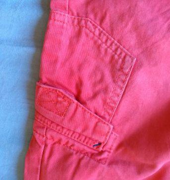 calça vermelha - 24 a 36 meses - Tom Tailor