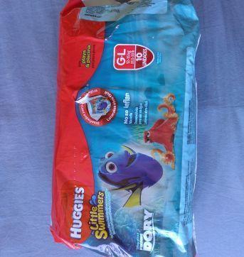 fraldas huggies little swimmers g 10 unidades - Sem faixa etaria - Huggies