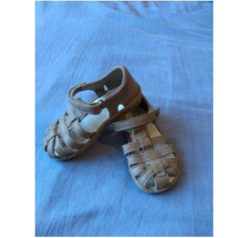 sandália marrom - 21 - Bibi