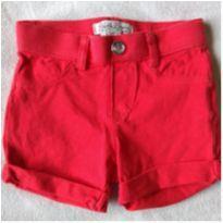 shortinho vermelho - 12 a 18 meses - LUCKY BRAND (USA)