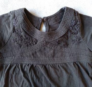 blusinha marrom - 18 a 24 meses - Não informada