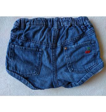 shorts cerejas - 12 a 18 meses - H&M