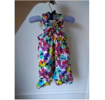 vestido primavera - 12 a 18 meses - Baby Club