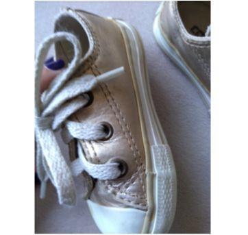 tênis dourado - 19 - ALL STAR - Converse
