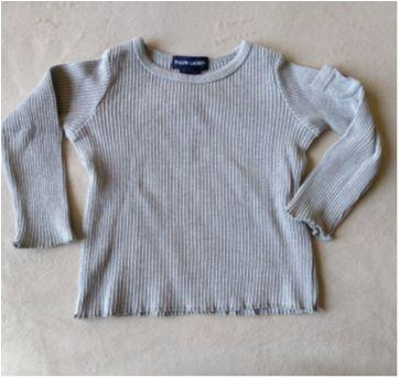 blusa manga longa Ralph - 12 a 18 meses - Ralph Lauren