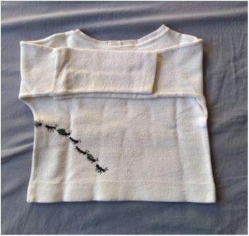 blusa manga longa formiguinhas - 24 a 36 meses - Fábula