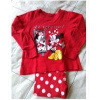 pijama Minie & Mickey - 3 anos - Não informada