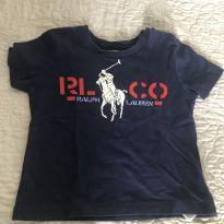 Camiseta polo ralph original em perfeito estado - 1 ano - Ralph Lauren