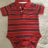 Body polo tommy Hilfiger - 1 ano - Tommy Hilfiger