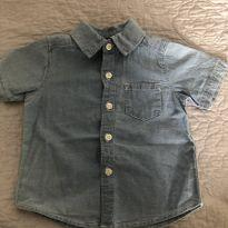 Camisa jeans Carter's 9M - 9 meses - Carter`s