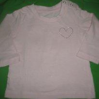 Blusinha coração - 6 a 9 meses - Riachuelo