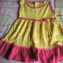 Vestido Coelhinhos - 12 a 18 meses - Lillinkids