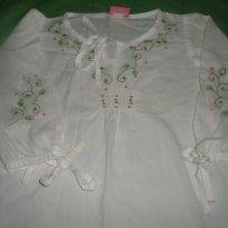 Bata bordada Charme - 2 anos - Turminha girls