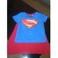 Camiseta Super Homem - 12 a 18 meses - Riachuelo