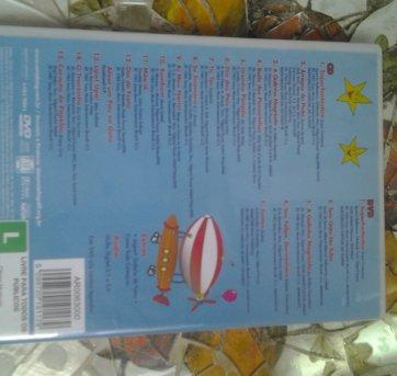 DVD + CD A TURMA DO BALÃO MÁGICO. - Sem faixa etaria - Não informada