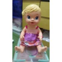 BONECA  BABY  ALIVE  HORA  DO  CHÁ  !!! -  - Hasbro