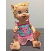 BONECA BABY ALIVE  SORVETINHO  !!! RARIDADE -  - Hasbro