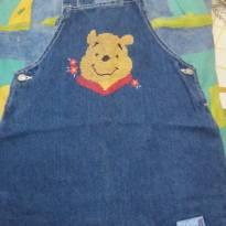 Vestido Estilo Jardineira Pooh  !!! - 2 anos - Pooh (importado)