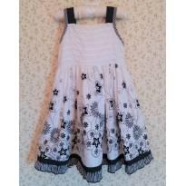 Vestido  Preto e Branco - 2 anos - Menina Bonita