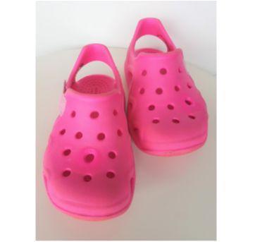 Crocs pink com velcro - 24 - Crocs