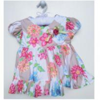 Blusa floral - 1 ano - 1+1
