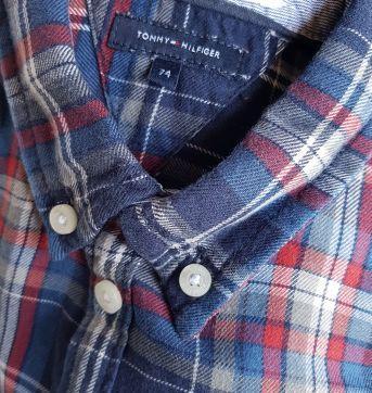Camisa Tommy Hilfiger Masculina - 12 a 18 meses - Tommy Hilfiger
