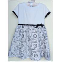 Vestido Branco Chicco - 5 anos - Chicco