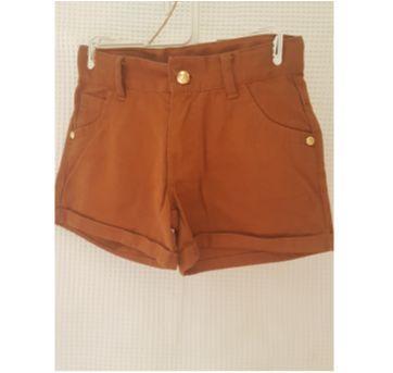shorts Marrom - 6 anos - Lilica Ripilica