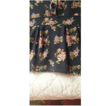 Vestido em malha strech florido - 5 anos - Chicco