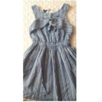 Vestido azul e branco - 5 anos - Kiabi