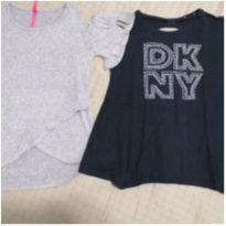 2 BLUSINHAS - 9 anos - DKNY