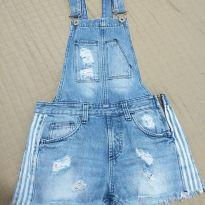 macaquinho jeans - 11 anos - Não informada