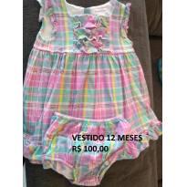 Vestido Ralph Lauren Original - Linho - 12 meses - 1 ano - Ralph Lauren