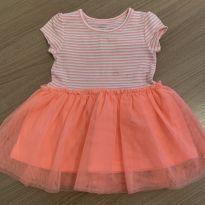 Vestido Asinha Carter's - 9 meses - Carter`s