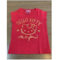 Camiseta Hello Kitty - 1 ano - Hello Kitty by Sanrio