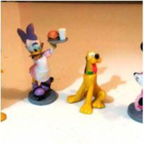 LOTE DE BRINQUEDOS DISNEY MINIATURAS MINNIE MARGARIDA ETC -  - Disney