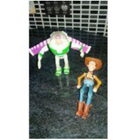 LOTE DE BRINQUEDOS LINDOS E FOFOS toy story wood e buzz -  - Toy Story
