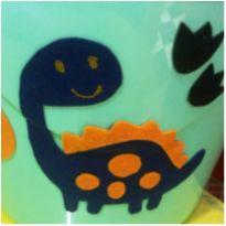 porta brinquedos infantil dinossauro para seu principe -  - Não informada